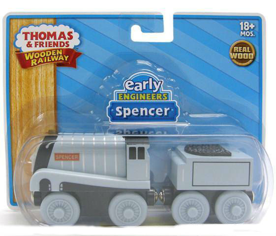 Thomas Wooden Railway - Early Engineers Spencer engine