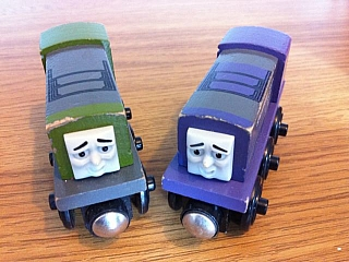 Thomas Wooden Railway - Splatter is Engine