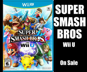 Super Smash Bros for WII U on Sale