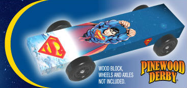 Revell Superman car wrap