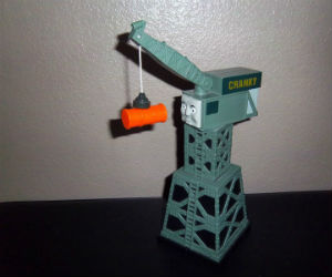 Cranky the crane by Learning Curve diecast
