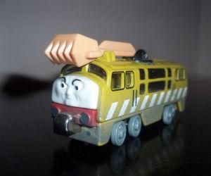 Take Along Diesel 10 diecast engine