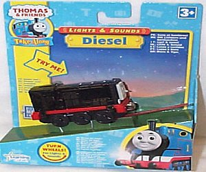 Take Along Diesel with lights and sounds
