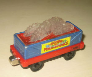 Fireworks car by Take Along diecast