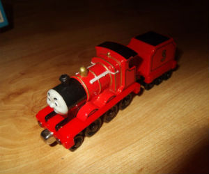 Take Along James engine with tender