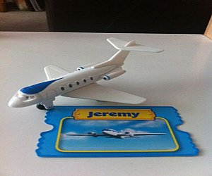 Take Along Jeremy the jet diecast
