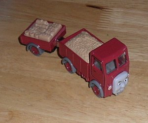 Lorry with trailer Take Along diecast vehicle