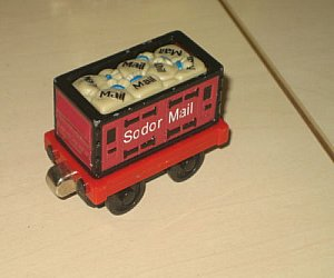 Take Along Mail Truck delivers Sodor Mail