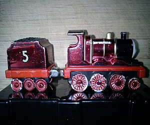 Take Along Metallic James engine