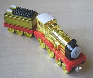 Take Along Metallic Molly diecast engine
