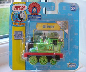 Take Along Metallic Oliver diecast engine