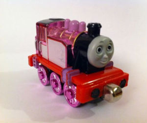 Take Along Metallic Rosie diecast engine
