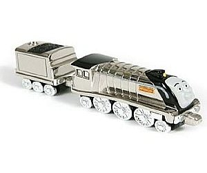 Take Along Metallic Spencer diecast engine