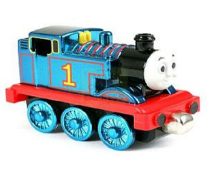 Take Along Metallic Thomas diecast engine