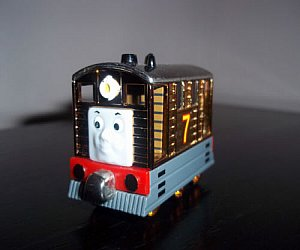 Take Along Metallic Toby diecast engine