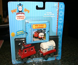 Milk Tanker and Caboose Take Along diecast vehicle