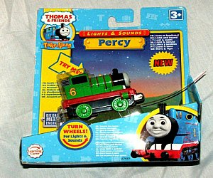 Take Along Percy Lights and Sounds diecast engine
