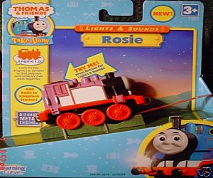Take Along Rosie Lights and Sounds engine diecast