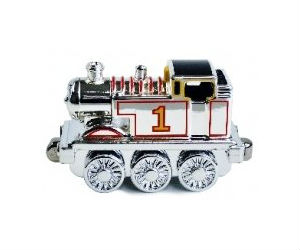 Rare Take Along Silver Metallic Thomas