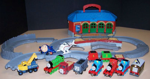Collecting Take Along Thoms trains is fun