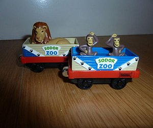 Take Along Zoo Cars by LC