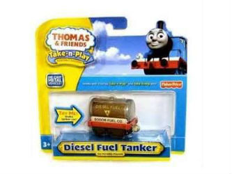 Fisher-Price Take-n-Play Diesel Oil Tanker