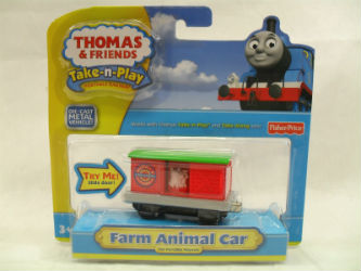 Fisher-Price Take-n-Play Farm Animal Car