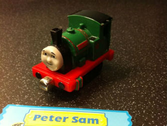 Fisher-Price Take-n-Play Peter Sam W3221