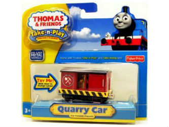 Fisher-Price Take-n-Play Quarry Car