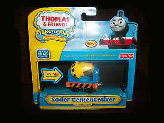 Fisher-Price Take-n-Play Sodor Cement Mixer