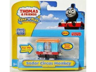 Fisher-Price Take-n-Play Sodor Circus Monkey