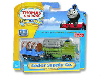 Fisher-Price Take-n-Play Sodor Supply Co R8865