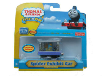 Fisher-Price Take-n-Play Spider Exhibit Car