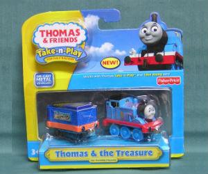 Fisher-Price Take-n-Play Thomas & the Treasure engine