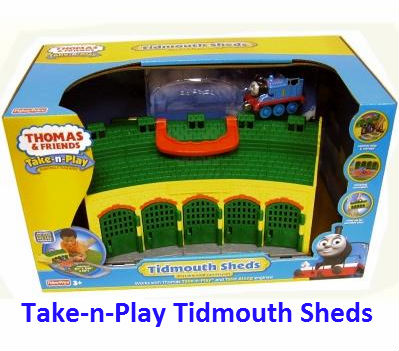 Take-n-play Tidmouth Sheds R9113