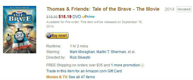 Order the Tale of Brave Today