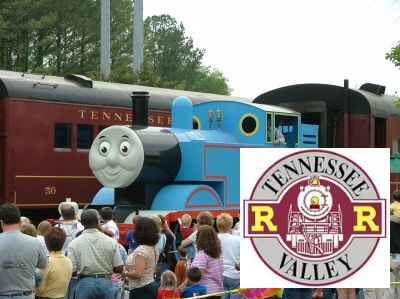 Tennessee Valley Railroad Museum Day Out with Thomas