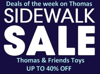 Discounted Thomas toys