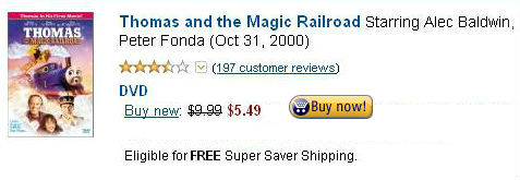 DVD Thomas and the Magic Railroad