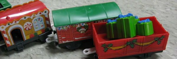 Holiday cars from Thomas' Big Holiday Haul Set