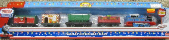 Thomas' Big Holiday Haul Train Set