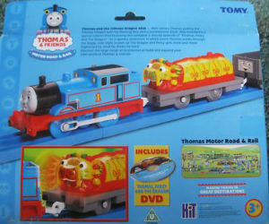 Thomas, Chinese Dragon, Troublesome truck by TOMY