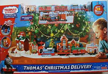 Thomas' Christmas Delivery battery train set