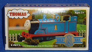 ERTL Gold Rail Thomas tains have magnetic couplings