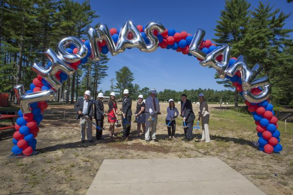 Thomas Land Groundbreaking ceremony