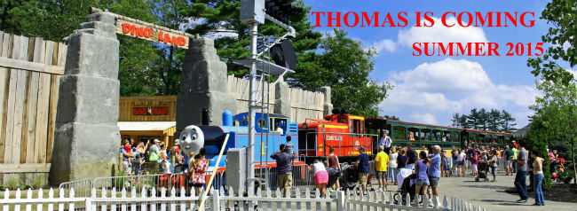 Thomas Land Rides at Edaville USA