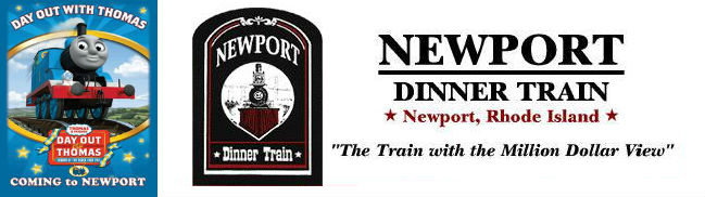 Meet Thomas the Tank Engine at Rhode Islands Newport Dinner Train