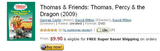 Watch Thomas Percy and the Dragon on DVD