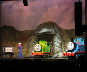 Troublesome truck, Percy and Thomas Live On Stage