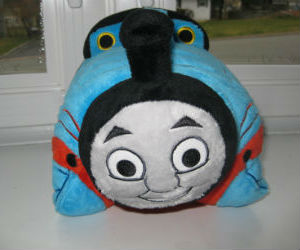 Thomas pillow pet front view